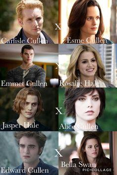 Cullen's Family at twilight saga Twilight Film, Jasper Twilight, Twilight Images, Twilight Saga Quotes, Twilight Jokes, Vampire Twilight, Twilight Saga Series, Twilight Edward, Twilight Breaking Dawn