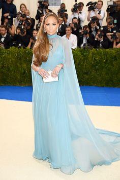 Jennifer Lopez In Valentino red-carpet/met-gala-red-carpet-best-dressed-2017