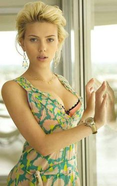 ♥ Scarlett ♥ I wonder what kind of watch that is?