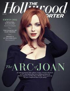 Christina Hendricks - The Hollywood Reporter magazine, USA, June 2012.