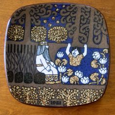 The Kalevala plates of Finland: 1981