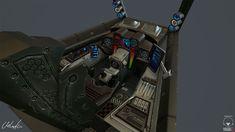 ArtStation - Spaceship Cockpit, Veso Mihaylov