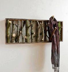 Rustic Coat Hanger Tutorial http://buildipedia.com/at-home/rehabitat/upcycled-coat-racks