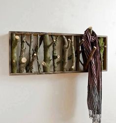 Rustic Coat Hanger Tutorial http://buildipedia.com/at-home/rehabitat/upcycled-coat-racks