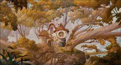 Animation Backgrounds: ENCHANTED (2007)