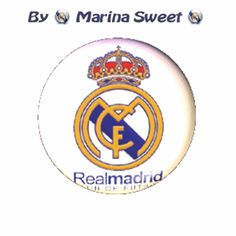 Escudo giratorio Real Madrid C.F. por ❤ Marina Sweet ❤
