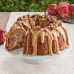 20 Tempting Apple Desserts | Apple-Cream Cheese Bundt Cake | SouthernLiving.com