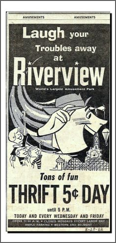 Riverview Amusement Park (05/25/1962)
