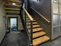 HGTV Dream Home 2014 Lake Tahoe staircase - love the airyness of the staircase!