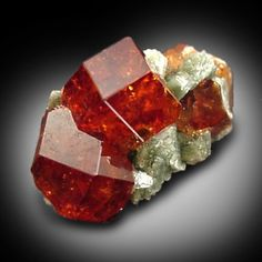 Grossular Garnet from Belvidere Mountain Quarries, Lowell (commonly called Eden Mills), Orleans County, Vermont