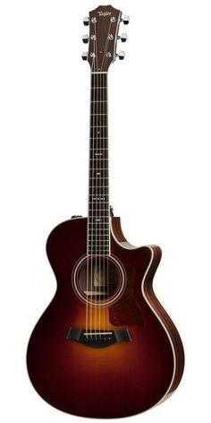 Taylor 712CE Grand Concert Cutaway Acoustic Electric Guitar