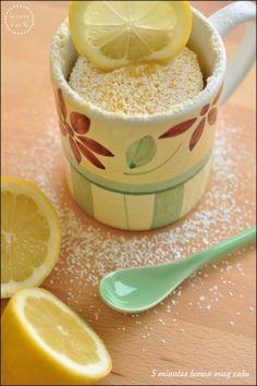 5 minutes lemon mug cake – Torta in tazza al limone in 5 minuti   La cucina di zia Ale