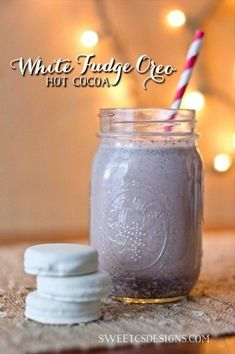 White Fudge Oreo Hot Chocolate - To-Die-For Hot Chocolate Recipes to Keep You Cozy This Winter - Photos