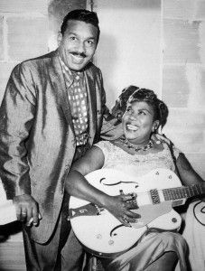 Sister Rosetta Tharpe (1915-1973) Also a crossover performer, she influenced numerous rock musicians such as Bob Dylan, Little Richard, Elvis Presley & fellow Arkansan Johnny Cash. She appeared with such legendary performers as Cab Calloway, Benny Goodman, Louis Jordan and took the stage at the Cotton Club and Café Society.