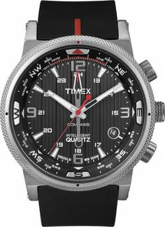 c50bc857c8dd Timex Intelligent Quartz Compass Zwart. Reloj TimexReloj TácticoModa  HombreRelojes ...