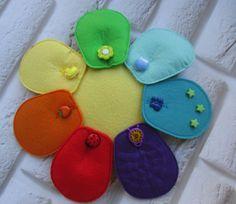 Petals with different napolniteljami: Squeaker, surely, beads, lace well develop fine motor skills.  Лепестки с разными напонителями: пищалка, шуршалка, бусины, шнурок - прекрасно развивают мелкую моторику рук. Coin Purse, Wallet, Purses, Handbags, Coin Purses, Handmade Purses, Wallets, Purses And Handbags, Bags