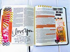 Bible Journaling : #ReflectSunday | Bonita Rose