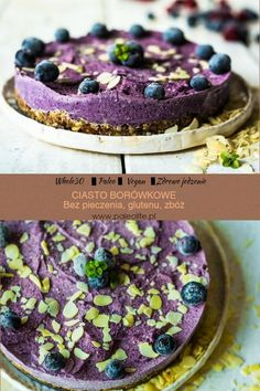 Vegan Cheesecake, Vegan Cake, Paleo Recipes, Cooking Recipes, Paleo Food, Healthy Cooking, Healthy Food, Raw Vegan, Granola