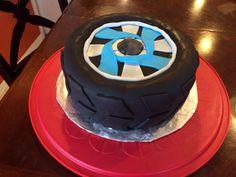 Tire and Rim cake