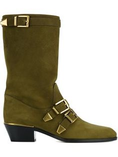 buckled boots by Cloé