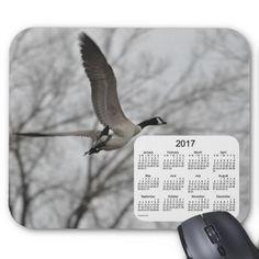 Canada Goose 2017 Bird Calendar Mouse Pad