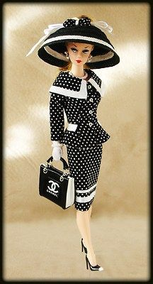 Barbie with Chanel bag