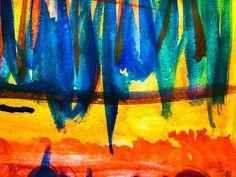 'Abstract lines 1' von Gabi Hampe bei artflakes.com als Poster oder Kunstdruck $18.03