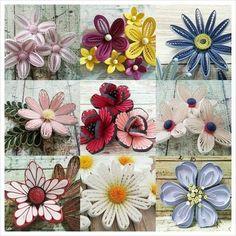 5번째 이미지 Neli Quilling, Quilling Jewelry, Ideas Quilling, Quilling Flowers Tutorial, Paper Quilling Flowers, Quilling Work, Quilling Paper Craft, Quilling Patterns, Quilling Designs