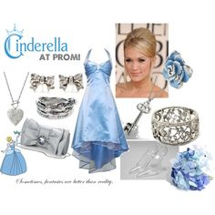 """Cinderella at Prom!"" created by #jordy-pie"