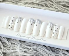 baroquennails.etsy.com #nails #coffinnails #customnails #shopping #stilettonails #swarovskinails #beforeandafter #naillife #nailart #mattenails #gelnails #pressons #celebnails #viral #beautyfinds #nailgoals #glueonnails #pinknails #longnails #fakenails