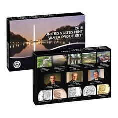 2016-S United States Mint Annual Silver Proof Set 13-coins in Mint Box with COA