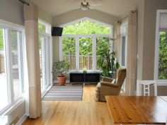 Let Your Room Shines: Decorating Ideas for Sunroom: Beautiful Sunroom Ideas Wooden Floor ~ enferd.com Interior Design Inspiration