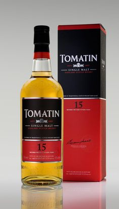 Scotch Highland Single Malt Whisky Tomatin 15 Años. www.entrecow.com