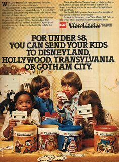 From Hollywood to Gotham City with Viewmaster! #vintage #1970s #1980s #toys #nostalgia