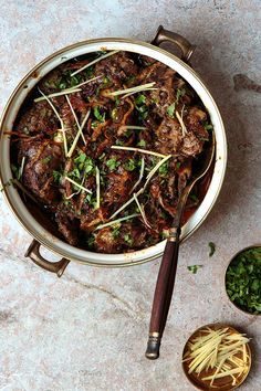 This spicy, luxurious lamb stew comes from a recipe shared by Lahore home cook Fazilat Alamgir. Best Lamb Recipes, Indian Food Recipes, Asian Recipes, Healthy Recipes, Tofu Recipes, Easy Recipes, Slow Cooker Recipes, Cooking Recipes, Cooking Corn