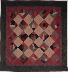 Quilt, Crazy pattern Date: ca. 1885–1900 Geography: Mid-Atlantic, Pennsylvania, United States Culture: American Medium: Silk, silk velvet, and wool Dimensions: 75 3/4 x 73 3/8 in. (192.4 x 186.4 cm) Classification: Textiles