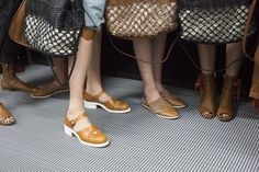 Go backstage at Emporio Armani and all the other best runway shows at Milan Fashion Week on wmag.com.