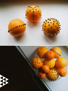 A Bowl of Clove Oranges | 40 DIY Home Decor Ideas That Aren't Just For Christmas