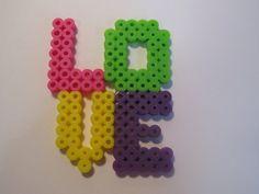 Love perler beads. $3.00, via Etsy.