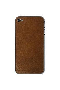 Valentine Goods iPhone 4/4S Auburn Leather Back