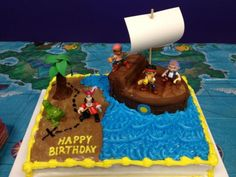 Neverland Pirates Cake