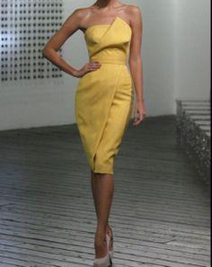 Victoria Beckham : Prêt-à-porter Printemps-été 2010.