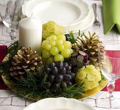 Sirve las uvas con estilo