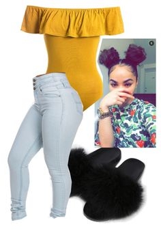 Untitled #5 by melaninprinces on Polyvore featuring polyvore, Sans Souci, fashion, style and clothing