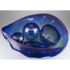 Dale Chihuly (b. 1941) Five-Piece Seaforms Set: Leland Little Auctions