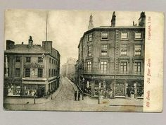 Old Boar Lane, Leeds, West Yorkshire, England - late 1800s