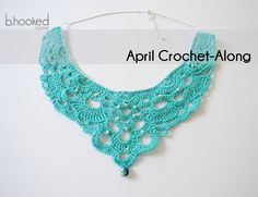 April Crochet-Along: Chandelier Necklace