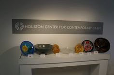 bowls designed and donated by the sponsors @ Houston Food Bank's 9th Annual Empty Bowls