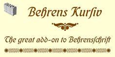 Behrens Kursiv™ font download