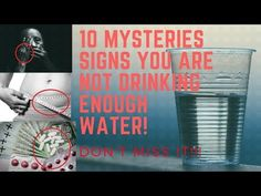 Check out the new video on my channel! What Happens To Your Body If You Don't Drink Enough Water-10 Signs You Are Not Drinking Enough Water https://youtube.com/watch?v=vpJqA8IWDM0